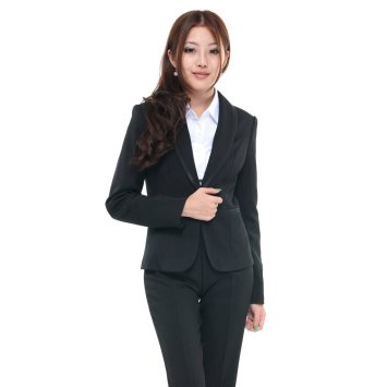 free-delivery-2012-long-sleeve-women-s-shawl-collar-one-button-pants-suits-formal-slim-pant