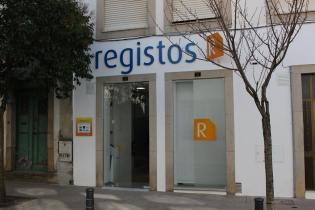 Conservatória do Registo Civil em Portugal. Civil registry office in Portugal.