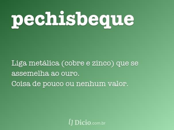 pechisbeque